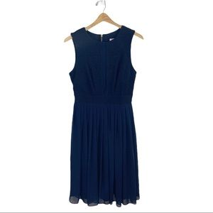 ASOS Petite Navy Blue Sleeveless Dress 8